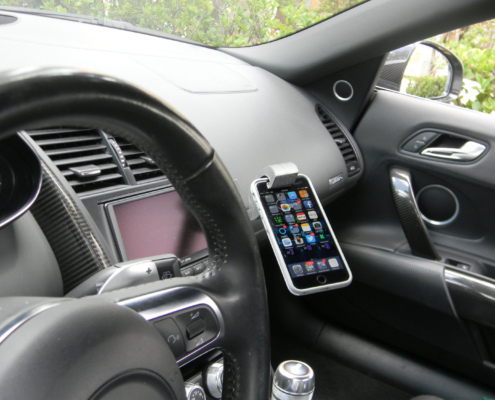 Audi r8 cell phone mount